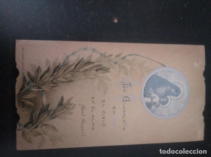 Postales: Recordatorio primera comunión 1911 - Foto 2 - 185681313