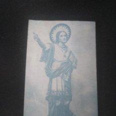 Postales: ESTAMPA SAN PANCRACIO IGLESIA MERCEDARIAS BILBAO. Lote 185684811