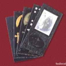Postales: LOTE DE 5 RECORDATORIOS ANTIGUOS - PRINCIPIOS DEL SIGLO XX. Lote 185783756