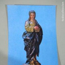 Postales: PURÍSIMA, DE ALONSO CANO - CATEDRAL GRANADA - SIN CIRCULAR. Lote 186247226