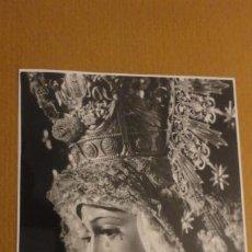 Postales: RECUERDO SOLEMNE SEPTENARIO.VIRGEN MACARENA.SEVILLA 1971 FOTOGRAFICA.. Lote 186274247