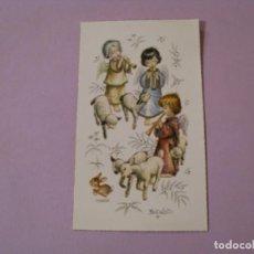 Cartes Postales: RECORDATORIO DE LA PRIMERA COMUNIÓN. IL. FERRANDIZ. ED. SUBI. OLIMPIA VIGO 1962. 10X6 CM.. Lote 187390762