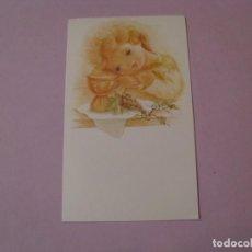 Cartes Postales: TARJETA PARA RECORDATORIO DE LA PRIMERA COMUNIÓN. EN BLANCO. IL. MAY DOLE. ED. SUBI. 5857-3. 1986.. Lote 187391455