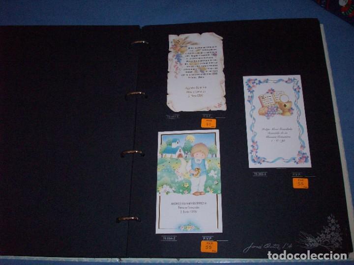 Postales: muestrario/catalogo de recordatorios de comunion jose ortiz S.A. 1998 - Foto 2 - 187582113
