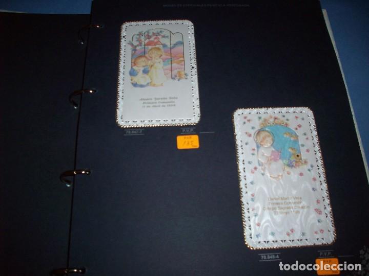 Postales: muestrario/catalogo de recordatorios de comunion jose ortiz S.A. 1998 - Foto 3 - 187582113