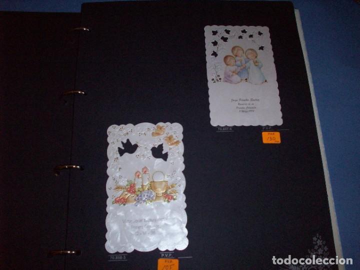 Postales: muestrario/catalogo de recordatorios de comunion jose ortiz S.A. 1998 - Foto 4 - 187582113