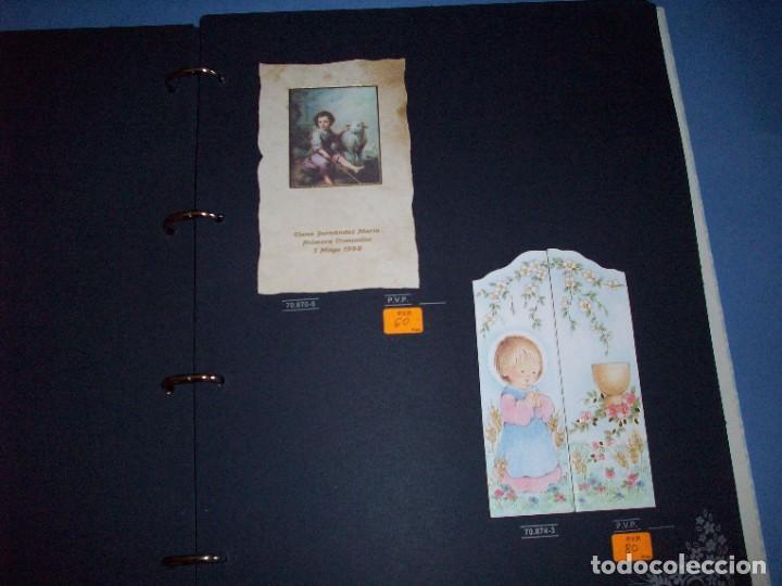 Postales: muestrario/catalogo de recordatorios de comunion jose ortiz S.A. 1998 - Foto 5 - 187582113