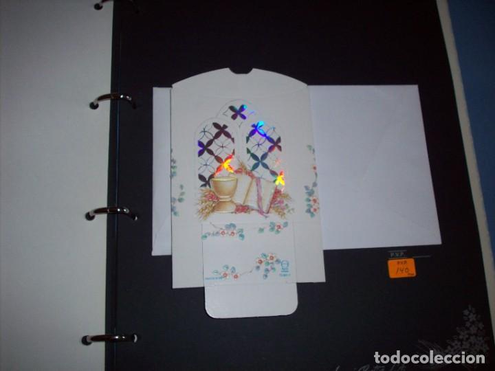 Postales: muestrario/catalogo de recordatorios de comunion jose ortiz S.A. 1998 - Foto 6 - 187582113
