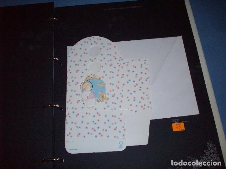 Postales: muestrario/catalogo de recordatorios de comunion jose ortiz S.A. 1998 - Foto 7 - 187582113