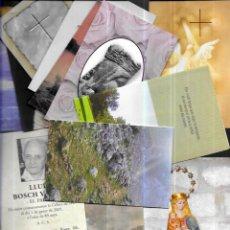 Postales: 100 RECORDATORIOS DEFUNCIÓN AÑOS 2000. Lote 190524451