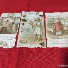 Postales: LOTE ESTAMPAS RELIGIOSAS. Lote 190528355