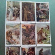 Postales: LOTE ANTIGUAS POSTALES BIBLICAS RELIGIOSAS. Lote 191172795