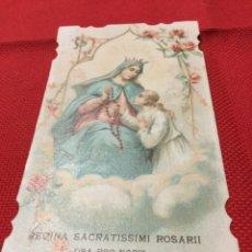 Postales: INVITACIÓN ACTO RELIGIOSO-SANTAFE 1918. Lote 191194233