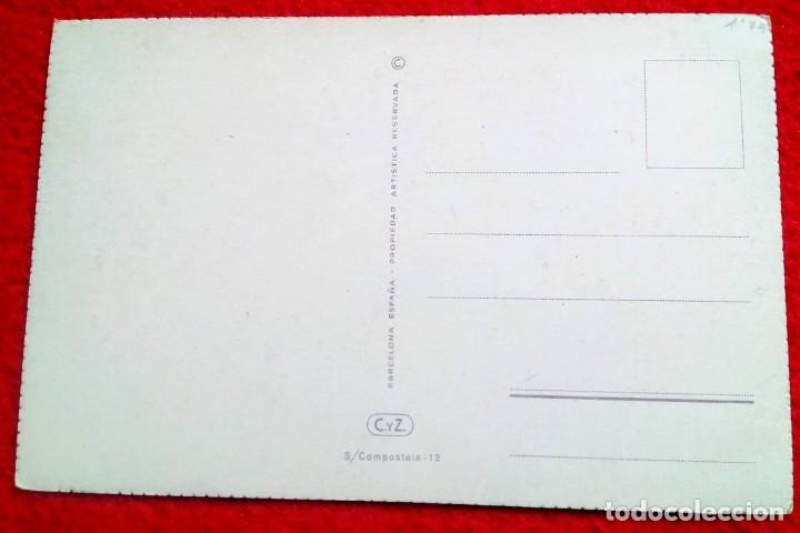 Postales: Tarjeta INMACULADA C y Z - s/Compostela 12 - Foto 2 - 191221963