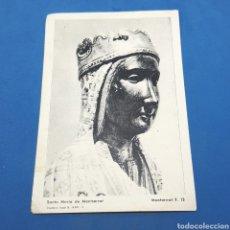 Postales: (SD.06) ESTAMPA RELIGIOSA O CROMO. SANTA MARÍA DE MONTSERRAT. F.13. Lote 191222148
