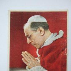 Postales: ESTAMPA PAPA PIO XII -. Lote 191816327