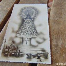 Postales: TARJETA POSTAL DE LA VIRGEN DEN PILAR DE ZARAGOZA CON LA CRUZ DE SANTIAGO. Lote 193251098