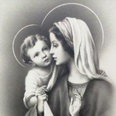 Postales: POSTAL VIRGEN MARIA Y NIÑO JESÚS EDICIONES ANCLA. Lote 193869842