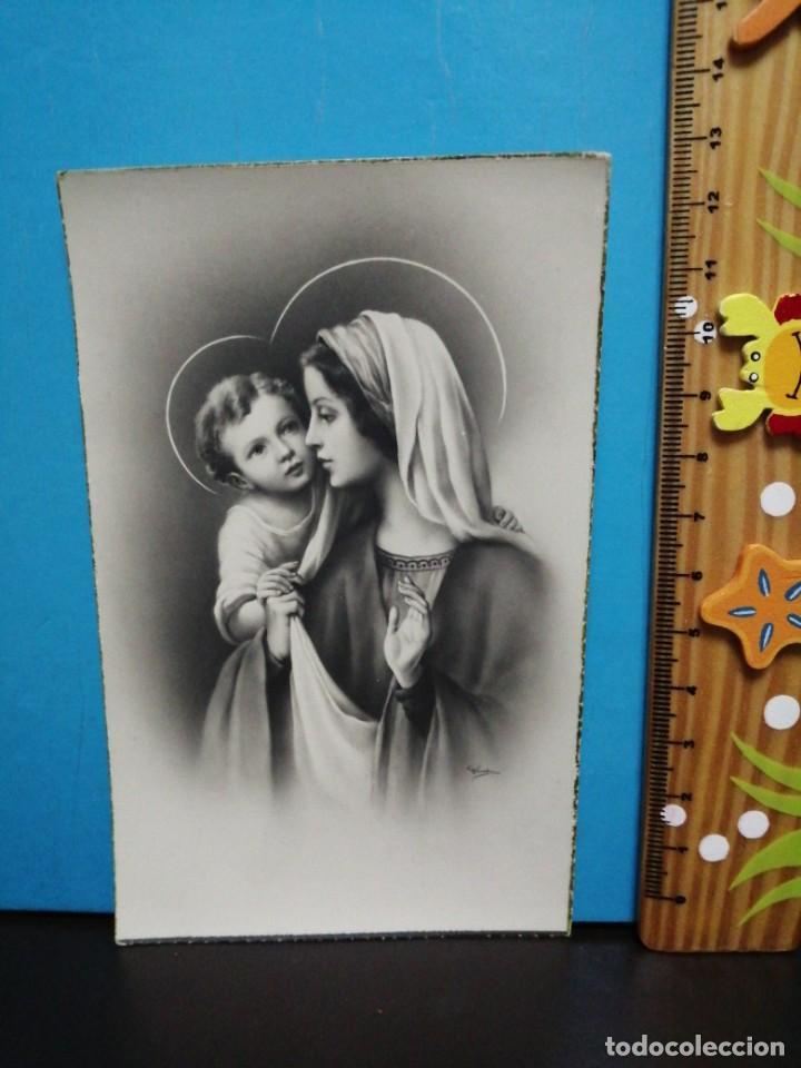 Postales: POSTAL VIRGEN MARIA Y NIÑO JESÚS EDICIONES ANCLA - Foto 2 - 193869842