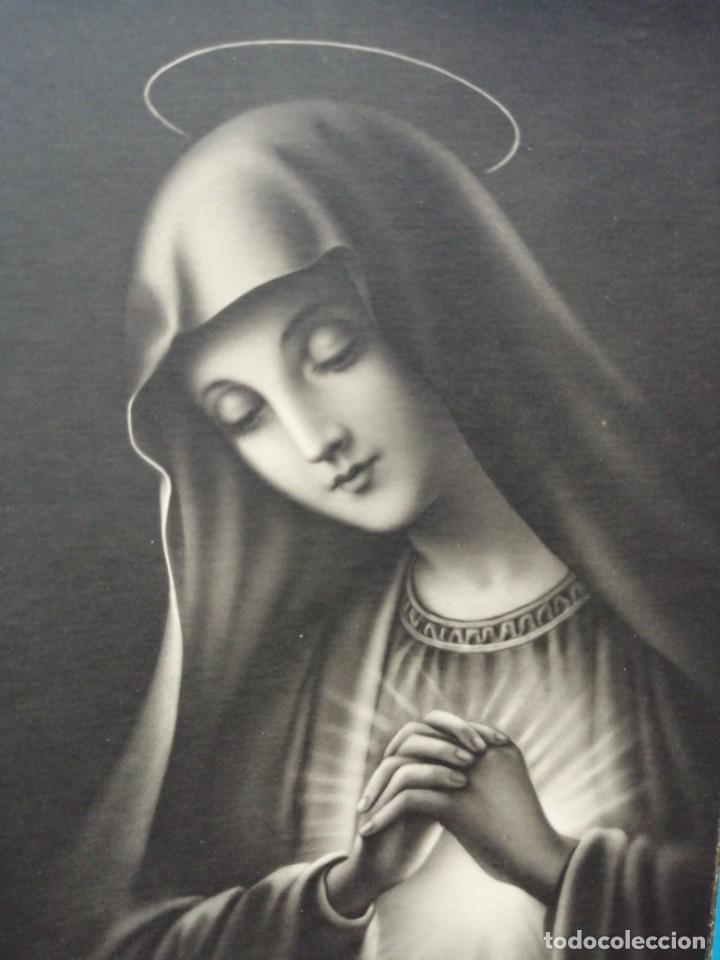 POSTAL VIRGEN MARIA EDICIONES ANCLA (Postales - Postales Temáticas - Religiosas y Recordatorios)