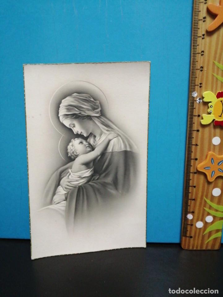 Postales: POSTAL VIRGEN MARIA Y NIÑO JESÚS EDICIONES ANCLA - Foto 2 - 193869888