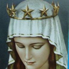 Postales: ESTAMPA RELIGIOSA VIRGEN DE LA INMACULADA . Lote 193869995