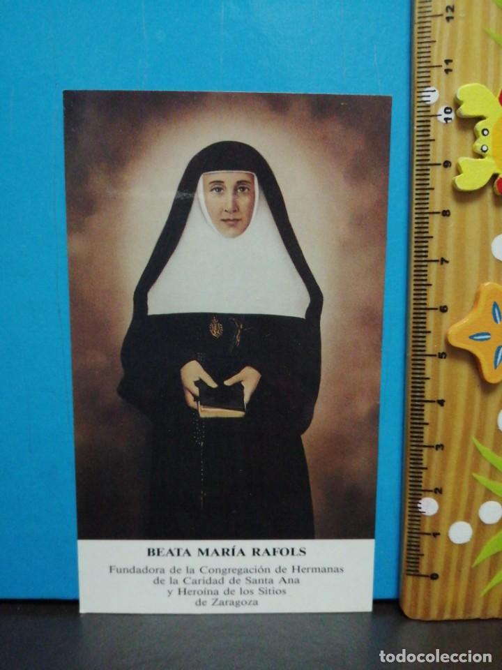 Postales: ESTAMPA RELIGIOSA BEATA, MARIA RAFOLS - Foto 2 - 193870013