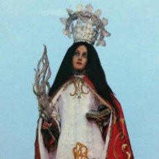 Postales: ESTAMPA RELIGIOSA VIRGEN SANTA TECLA . Lote 193870017