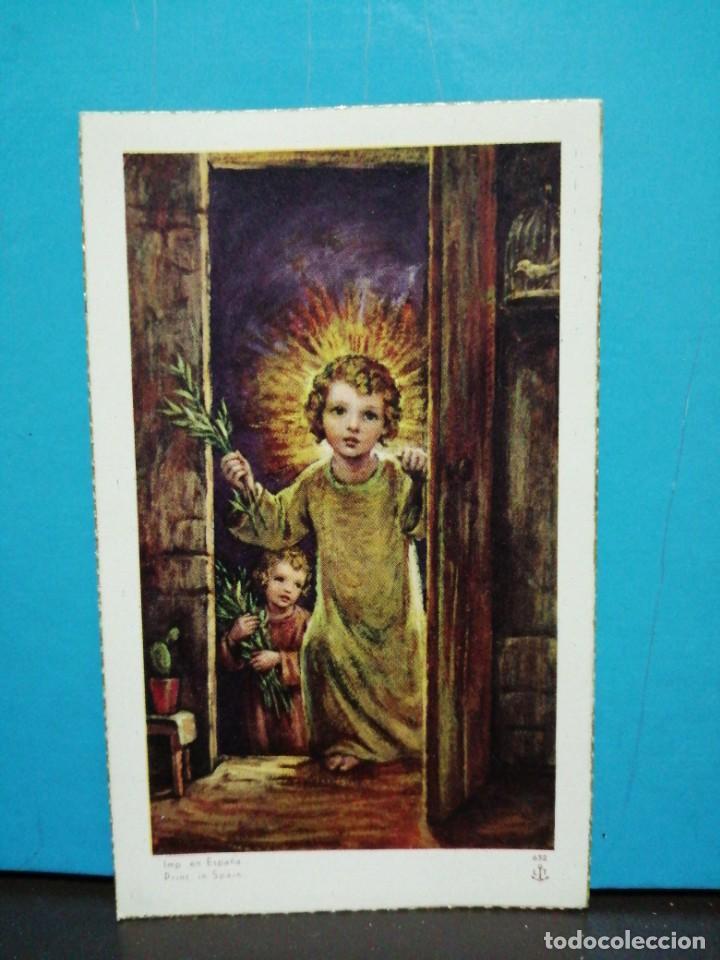 POSTAL ESTAMPA N° 632 EDICIONES ANCLA LT AÑOS 40 RELIGIOSA (Postales - Postales Temáticas - Religiosas y Recordatorios)