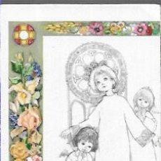 Postales: RECORDATORIO COMUNIÓN EMILIA -AÑO 1968. Lote 194227540