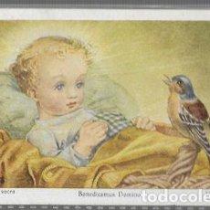 Postales: ESTAMPA AÑO 1954 * BENEDUCAMUS DOMINO * . Lote 194230290