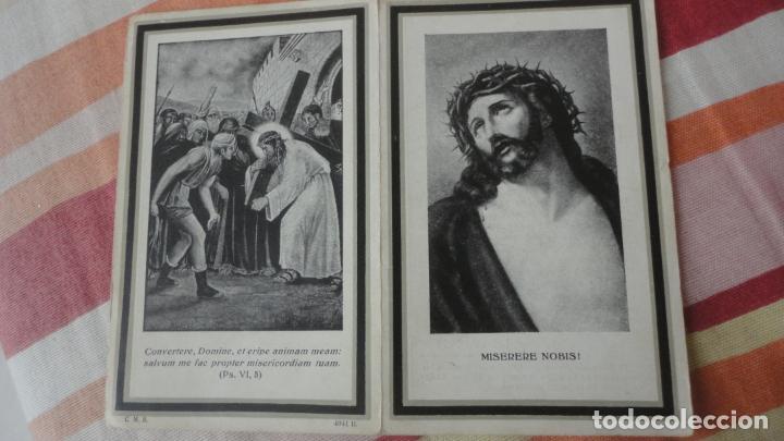 Postales: RECUERDO FUNERAL.D.RAMON ROCA CAMPS-FRANCISCO PIÑOL CODINA.ASESINADOS GUERRA CIVIL.LERIDA 1936-39 - Foto 2 - 194231897