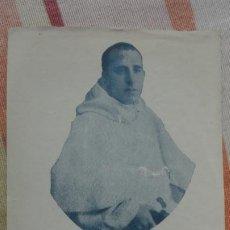 Postales: RECUERDO.ORACION.SACEROTE. ENRIQUE MORANTE CHIC.ASESINADO GUERRA CIVIL.LERIDA 1936.. Lote 194232601