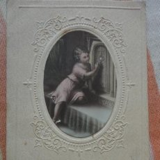 Postales: RECUERDO PRIMERA COMUNION.AGNA PRATS COCA.SAGRADA FAMILIA.BARCELONA 1932. Lote 194233531