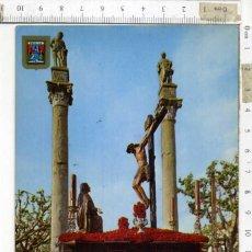Postales: TARJETA POSTAL SIN CIRCULAR ,STMO. CRISTO DE LA BUENA MUERTE . SEMANA SANTA DE SEVILLA. Lote 194241583