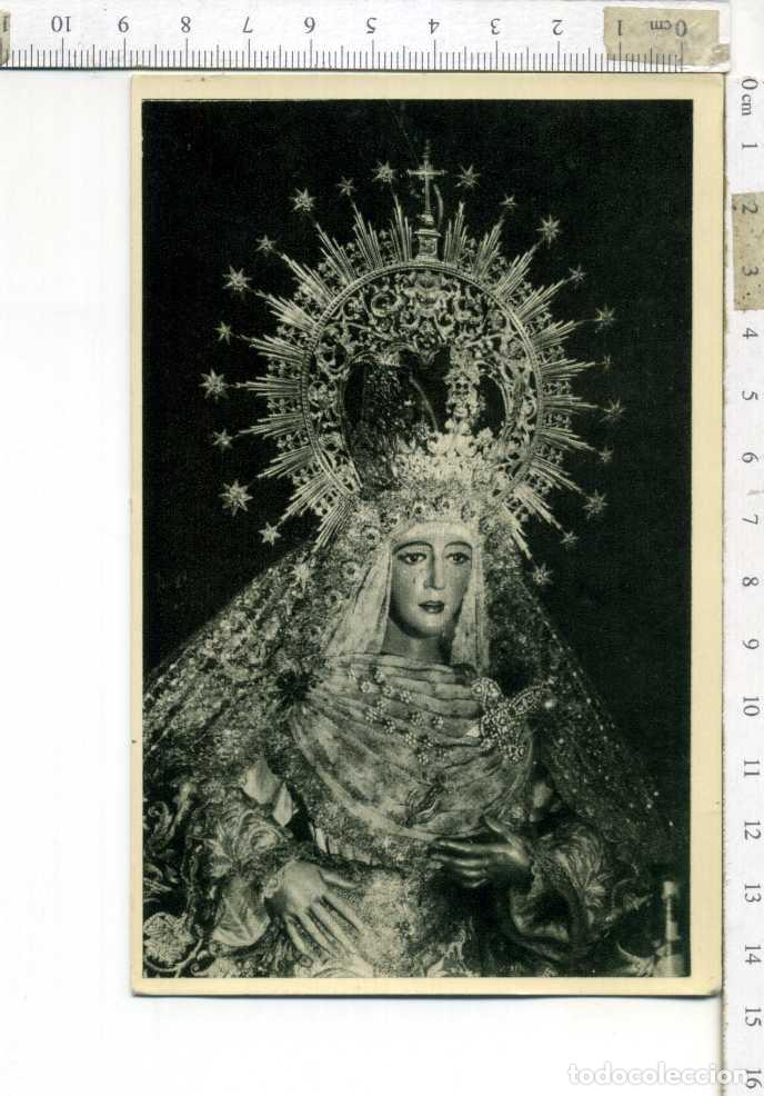 ANTIGUA TARJETA POSTAL SIN CIRCULAR ESPERANZA DE TRIANA SEMANA SANTA DE SEVILLA. (Postales - Postales Temáticas - Religiosas y Recordatorios)
