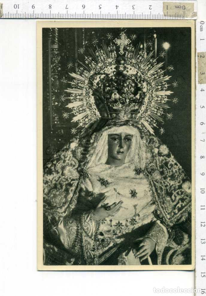 ANTIGUA TARJETA POSTAL SIN CIRCULAR ESPERANZA MACARENA SEMANA SANTA DE SEVILLA. (Postales - Postales Temáticas - Religiosas y Recordatorios)