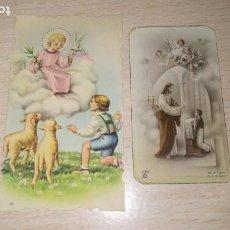 Postales: RECORDATORIO RELIGIOSO, VALVERDE DE LEGANES, BADAJOZ, AÑO 1957. Lote 194259336