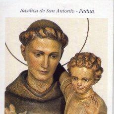 Postales: PEQUEÑA GUIA ESPIRITUAL, BASILICA DE SAN ANTONIO - PADUA. Lote 194327130