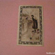Postales: ANTIGUA ESTAMPA RELIGIOSA. 8,5X5 CM. . Lote 194346632