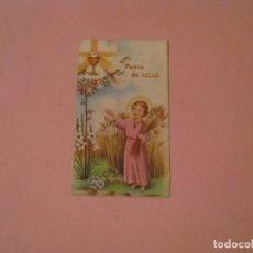 Postales: RECORDATORIO DE LA PRIMERA COMUNIÓN. ED. FS. LA LINEA. 1952.. Lote 194347641