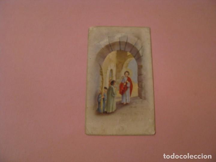 RECORDATORIO DE LA PRIMERA COMUNIÓN. LA LINEA. 1960. (Postales - Postales Temáticas - Religiosas y Recordatorios)