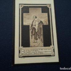 Postales: ANTIGUO RECORDATORIO DE DEFUNCION SITGES 1928 11,5 X 7,5 CM. Lote 194366207