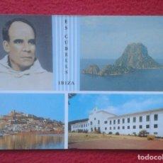 Postales: POSTAL ES CUBELLS IBIZA ISLAS BALEARES FRANCISCO PALAU I QUER FUNDADOR DE LAS CARMELITAS MISIONERAS. Lote 194367157