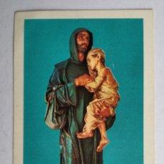 Postales: ESTAMPA RELIGIOSA ANTIGUA SAN JUAN DE DIOS. Lote 194378807