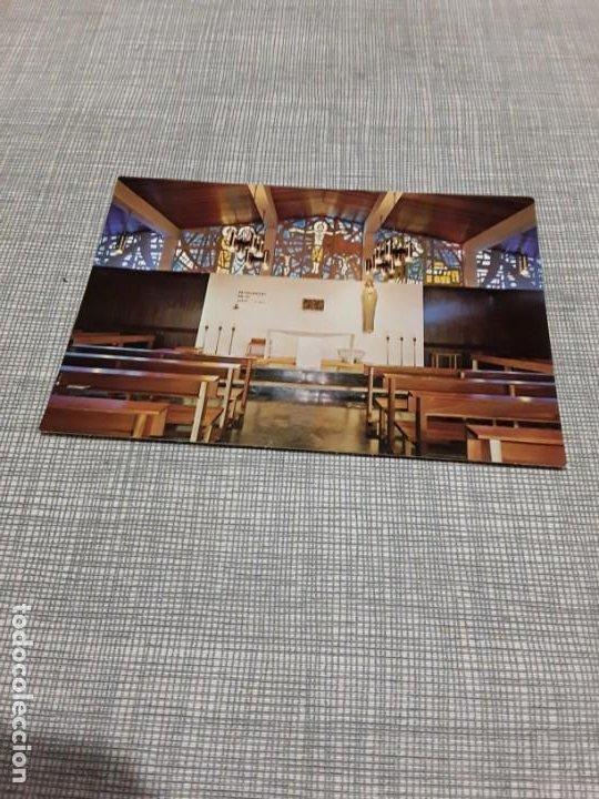 POSTAL DE PALENCIA CAPILLA DEL COLEGIO SANTA MARÍA DE NAZARET NÚMERO 2 (Postales - Postales Temáticas - Religiosas y Recordatorios)