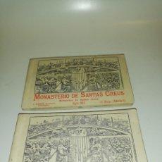 Postales: MONASTERIO DE SANTAS CREUS , ROISIN FOTOGRAFO 20 VISTAS SERIE 1 Y 2. Lote 194542015