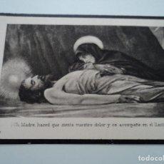 Postales: ANTIGUO RECORDATORIO DE DEFUNCION 1924. Lote 194557948