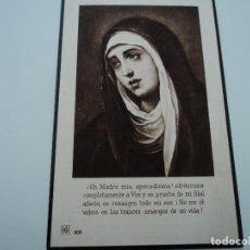 Postales: ANTIGUO RECORDATORIO DE DEFUNCION 1925. Lote 194558298