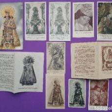 Postales: LOTE 11 ESTAMPAS VIRGEN DE LOS DESAMPARADOS PATRONA DE VALENCIA. Lote 194588556